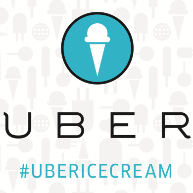 Uber Delivers Ice Cream
